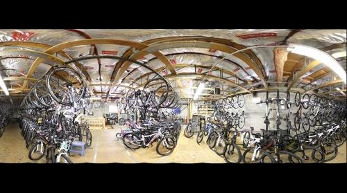 Guthrie Bicycle storage