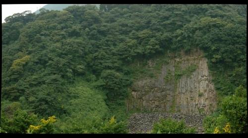 Ozu Valley Rock Face