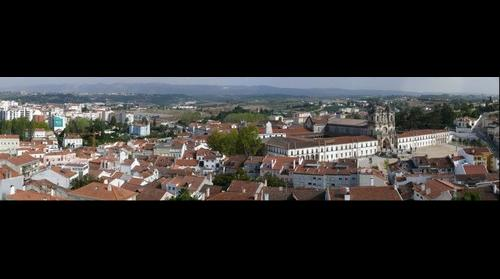 Alcobaca town