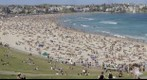 Public Holiday at Bondi Beach