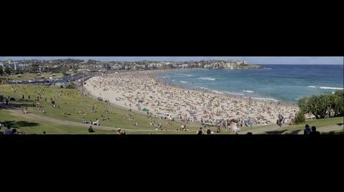 Public Holiday at Bondi Beach