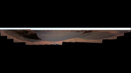 Duck Bay on Mars