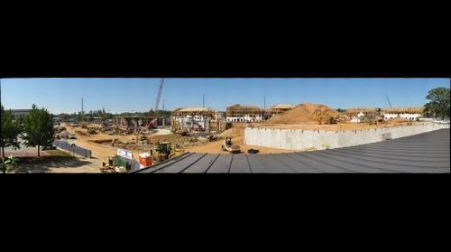 Construction at Auburn University