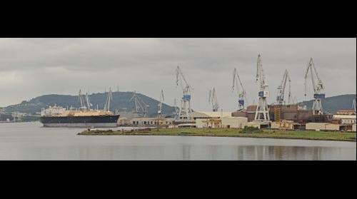 HMAS Canberra en construcción
