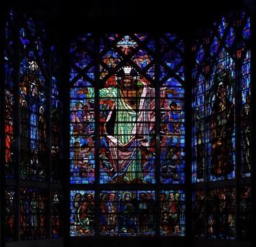 Notre-Dame-des-Missions vitrail Jean Hebert-Stevens