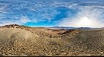 Panamint Valley and Panamint Range - - 360 VR Panorama