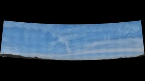 The beautiful sky in Huntington, WV.