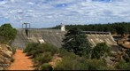 Mundaring Weir, Western Australia: Side view from Access Lane, Jan 4, 2012