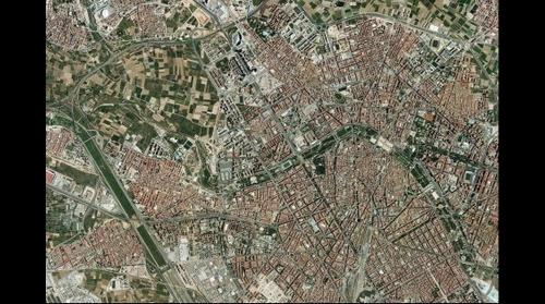 Valencia desde el cielo - Valencia from the sky