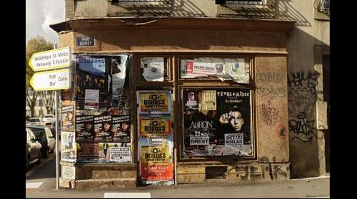 La rue Duret - Brest