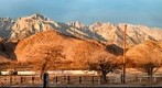 Mount Whitney at Sunrise from Lone Pine