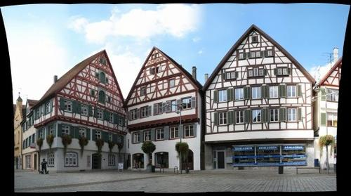 Downtown of Riedlingen (Germany)