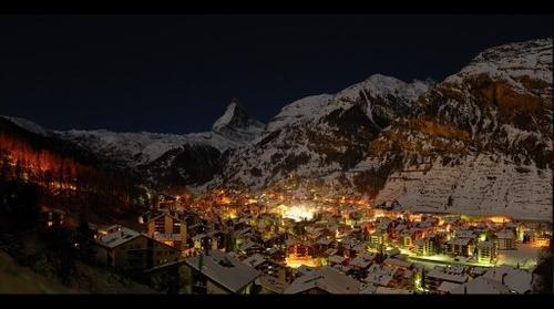 Nacht Zermatt