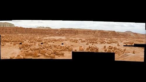 Goblin Valley with missing images