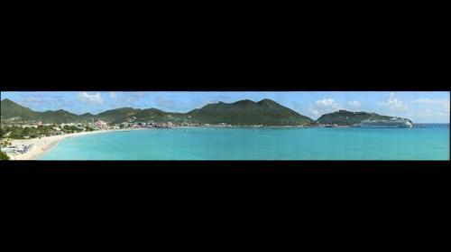 Philipsburg Sint Maarten - Waterfront - Boardwalk - Cruise Ship Terminal