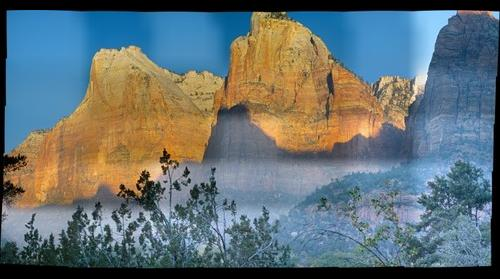 Court of the Patriarchs, Zion National Park, Utah USA