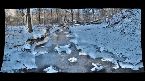 Abes Creek Upstream January 2012