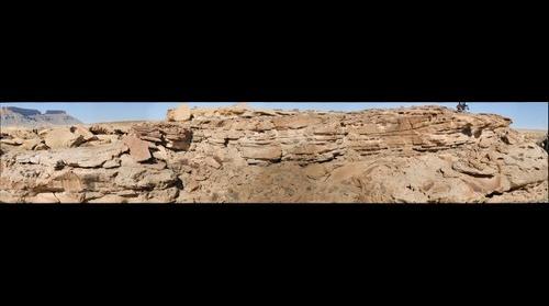 Ferron Sandstone, Notom Delta, Hanksville, Utah