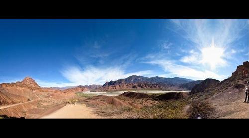 Punto Panorámico, Tres Cruces - Cafayate, Salta- Argentina