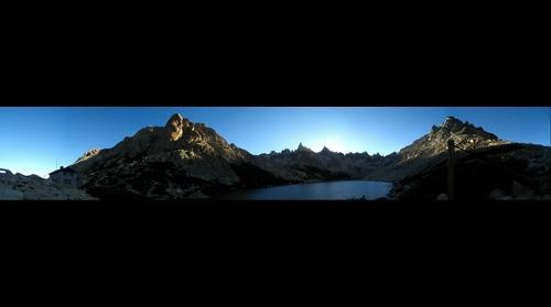 Refugio Frey - Puesta de sol
