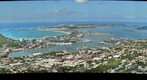 Higher View of Cole Bay, Simpson Bay &amp; Lagoon, Princess Juliana Airport SXM, the Lowlands and Sandy Ground