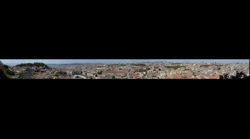 Panoramica de Lisboa, Portugal