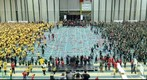World Record Dodgeball Game at the University of Alberta in Edmonton