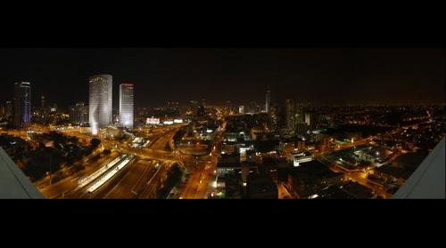 Night view from Tel Aviv - ISRAEL