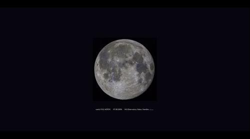 Full Moon over Hakos Namibia