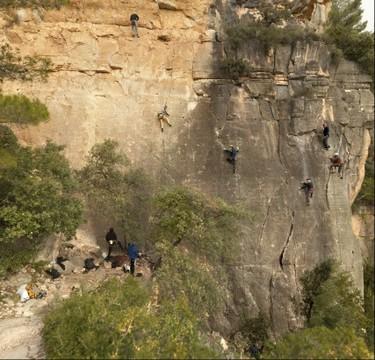 Siurana: climbers paradise