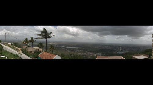 Vue du sud de Mysore depuis Chamundi Hills