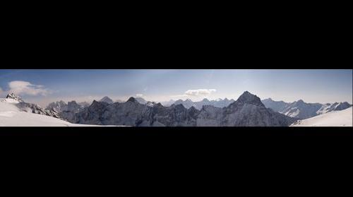 Les Deux Alps Mountain Range