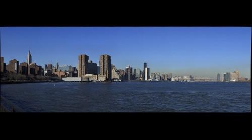 Skyline of New York City