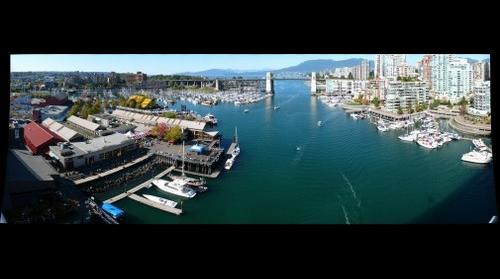 Vancouver from Granville St. Bridge