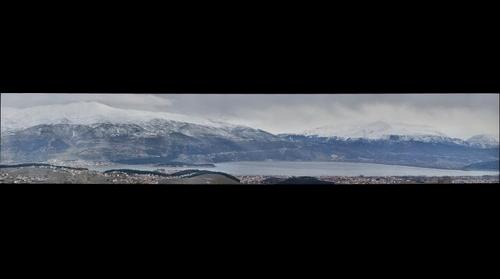 Ioannina Winter View from Marmara - Profitis Hlias