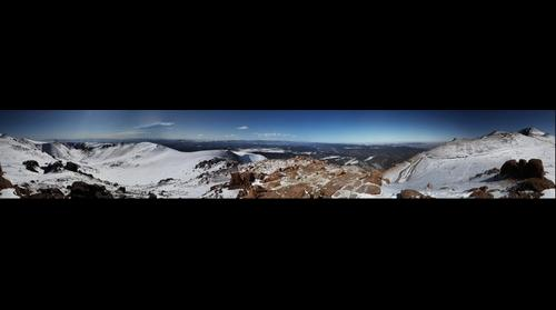 360 Close to the Summit of Pikes Peak