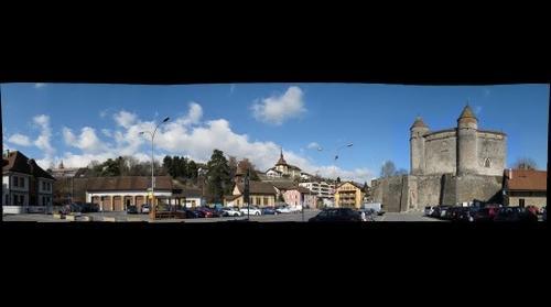 Place du château de Grandson