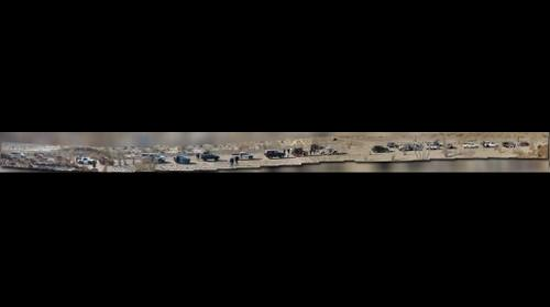 Panorama of Baja Desert Outing