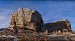 Big Rock, a glacial erratic near Okotoks, Alberta