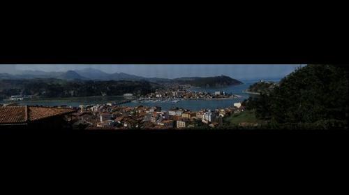 Vista desde El Espino, Ribadesella, Asturias, España