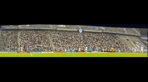 DaleFortin.com.ar . Copa Libertadores 2012 . Vélez 3-0 Chivas . Platea Sur