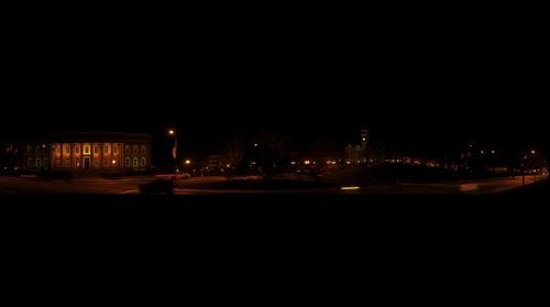 Clemson at Night