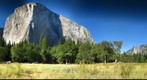 Yosemite From Valley Floor El Capitan.