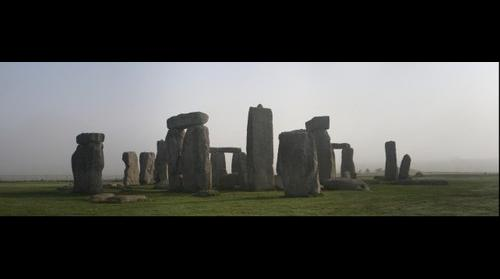 Stonehenge - once the fog cleared! (09:39AM)