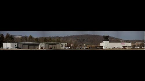 An airport scene at my home base KDXR, Danbury CT, USA