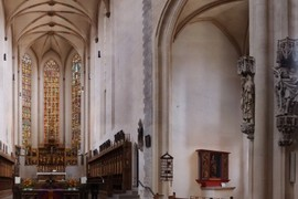 East View to Stained Glass