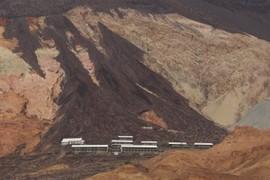 Basaltic Debris Aprons