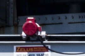 Control gate motor