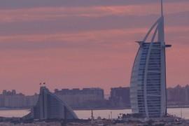 Burj el Arab & Jumeirah Beach Hotel