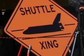 Shuttle Xing Sign